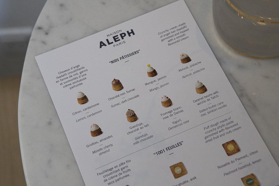 Maison Aleph Paris pâtisserie