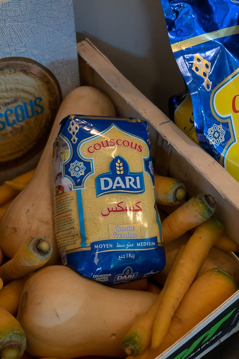 paquet de couscous dari