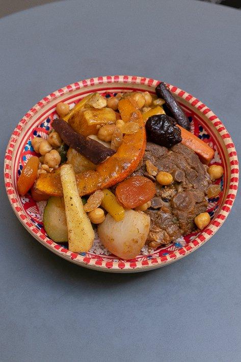 assiette de couscous
