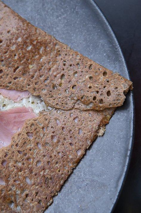 Breizh Café crête jambon truffe