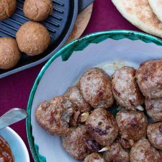 boulettes et falafels