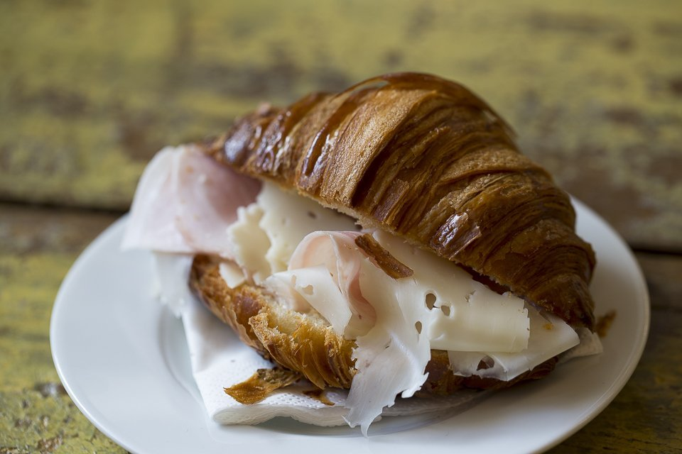 Marcello restautant, croissant jambon frmage