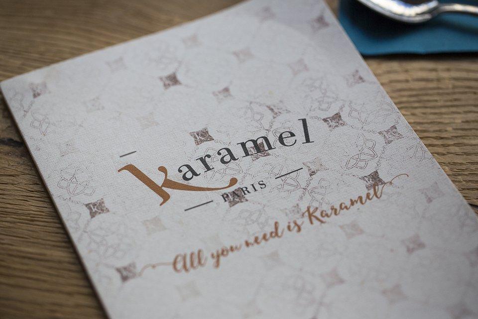menu karamel