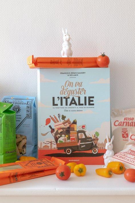 livre cuisine italie