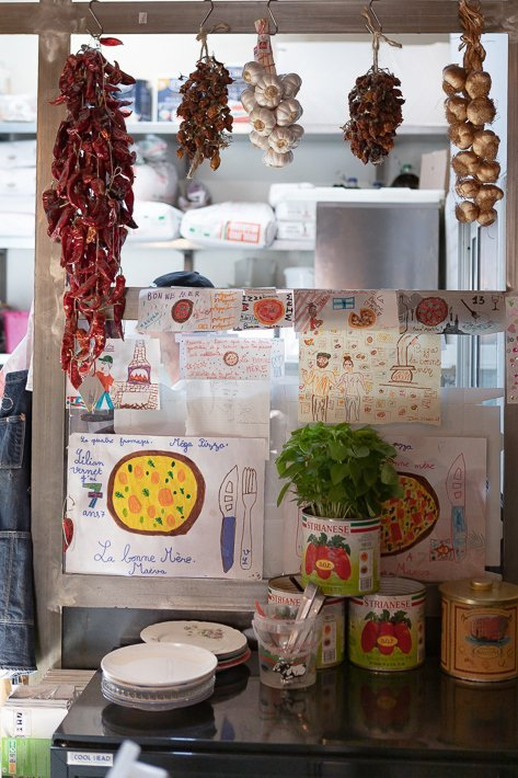 pizza la Bonne Mère Marseille