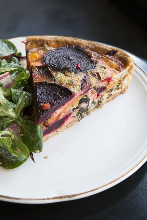 quiche betteraves