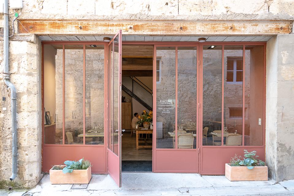 façade du restaurant Racine