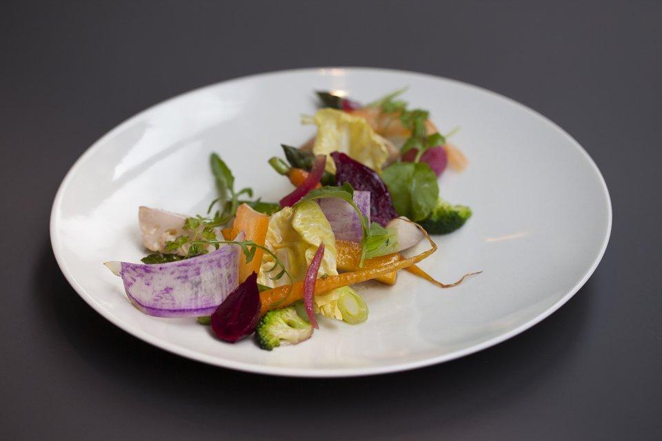 David Lanher et le restaurant racines des prés