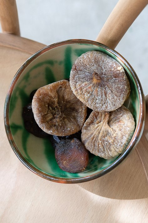 figues et abricots