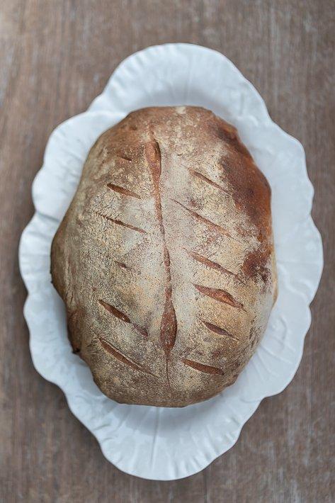 agneau cuit dans le pain