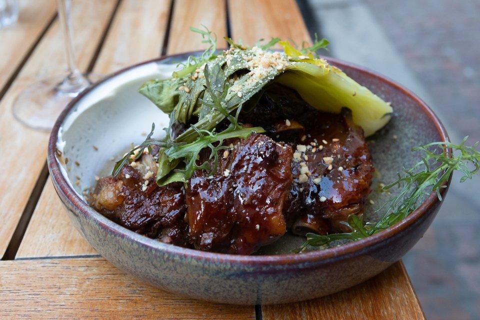 viande et chou chinois