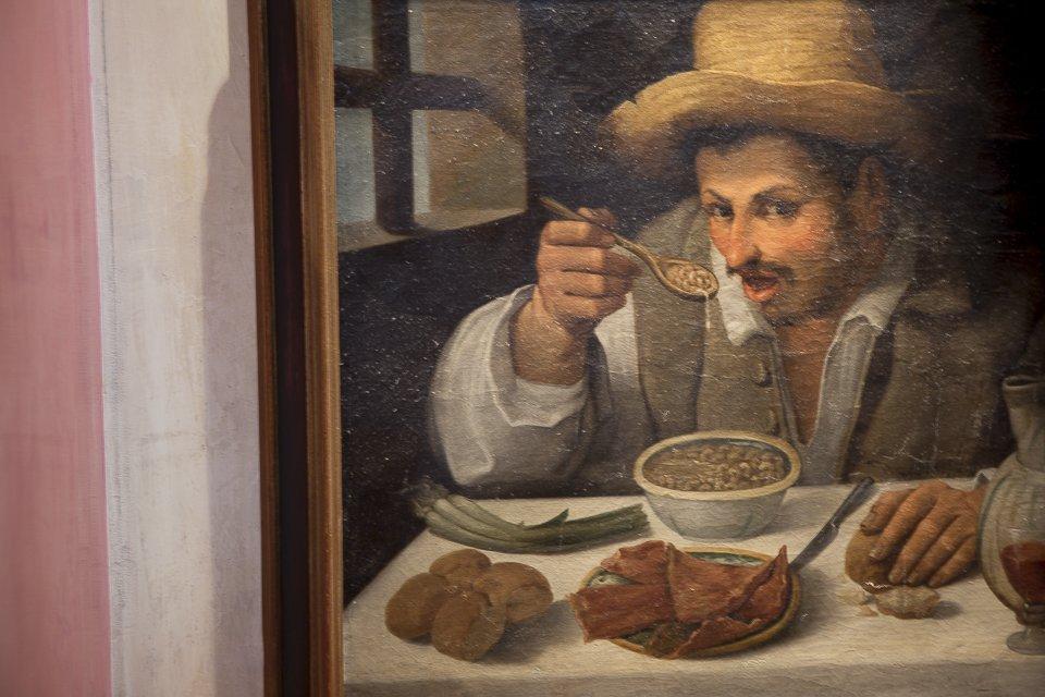 tableau d'un mangeur