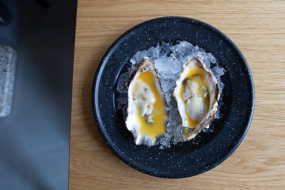 Huîtres chez sanchez à Copenhague
