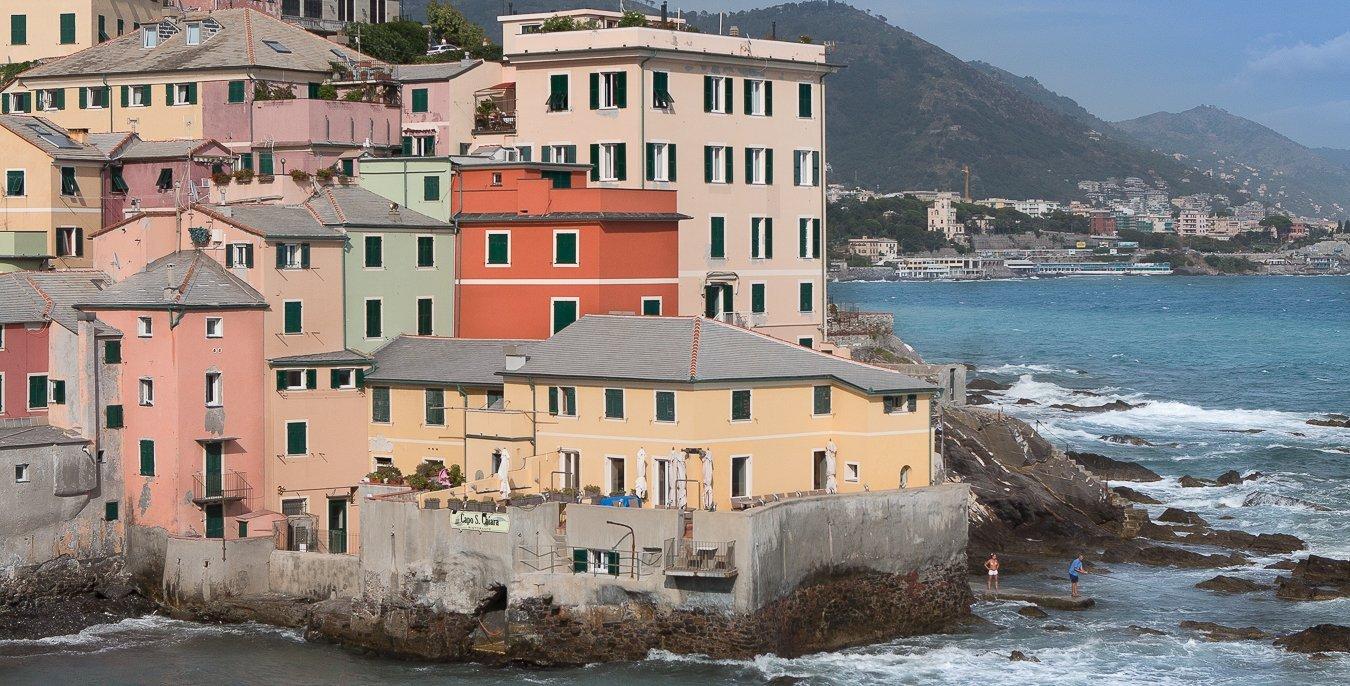 Osvaldo Antica Trattoria à Bocciasse, Gênes