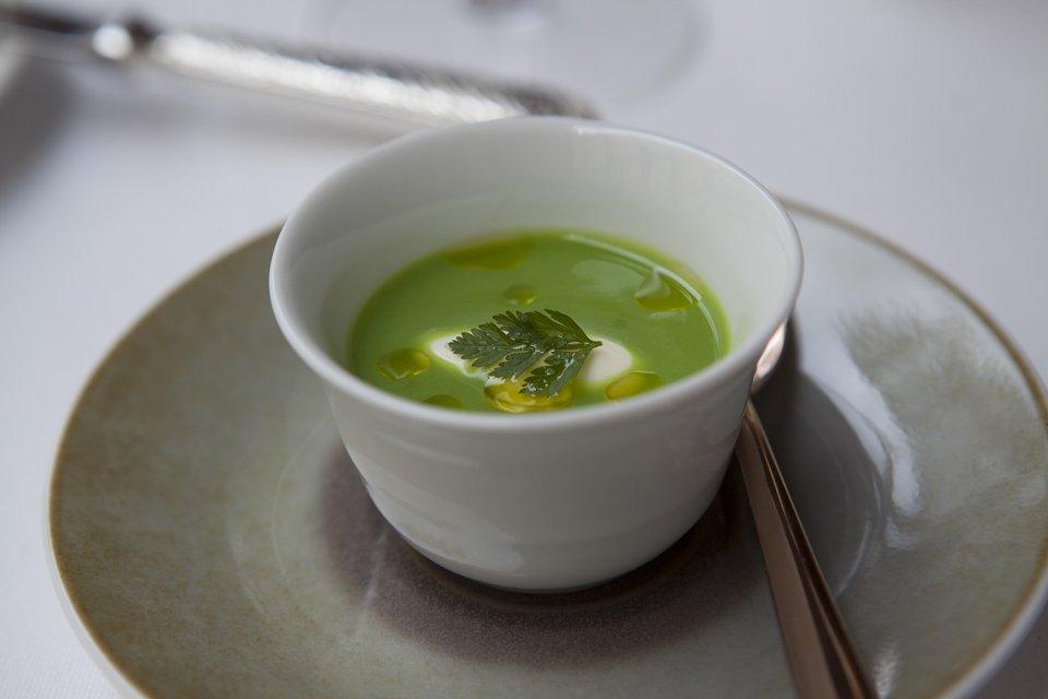 soupe de pois chez Pertinence