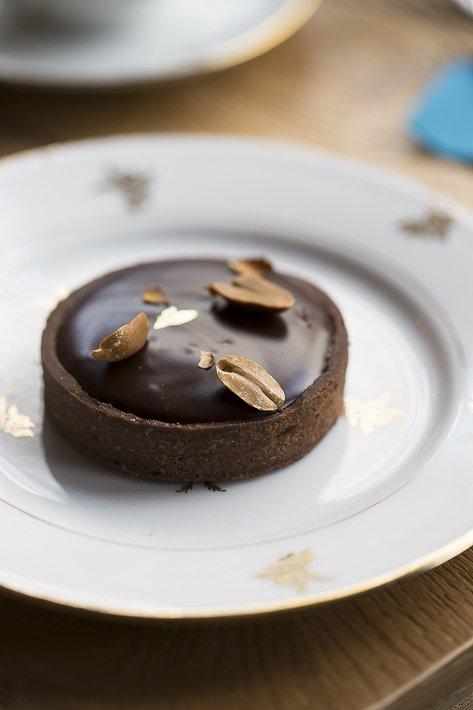 tarte au chocolat chez karamel